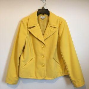 🌼HOST PICK🌼Studio Works Canary Yellow Jacket
